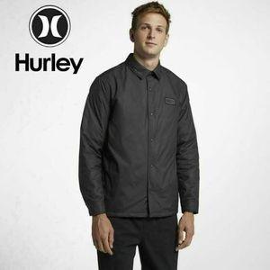 Hurley - Mens Oakland Shacket Jacket,black